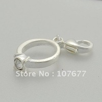 3D Silver plated zinc alloy Ring charms pendant 1100 styles! 100 pcs per lot  free shipping