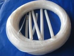 Extruded PTFE tube,PTFE tubing,PTFE hose,ID 6mm,OD 8mm,6*8 mm