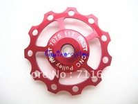 free shipping JOCKEY WHEELS,Mountain bike WHEELS,cnc bicycle parts x1pcs Red