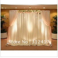 Free shipping Top-rated lovely  3m*3m wedding backdrops , wedding background ,any size and color can make as you like