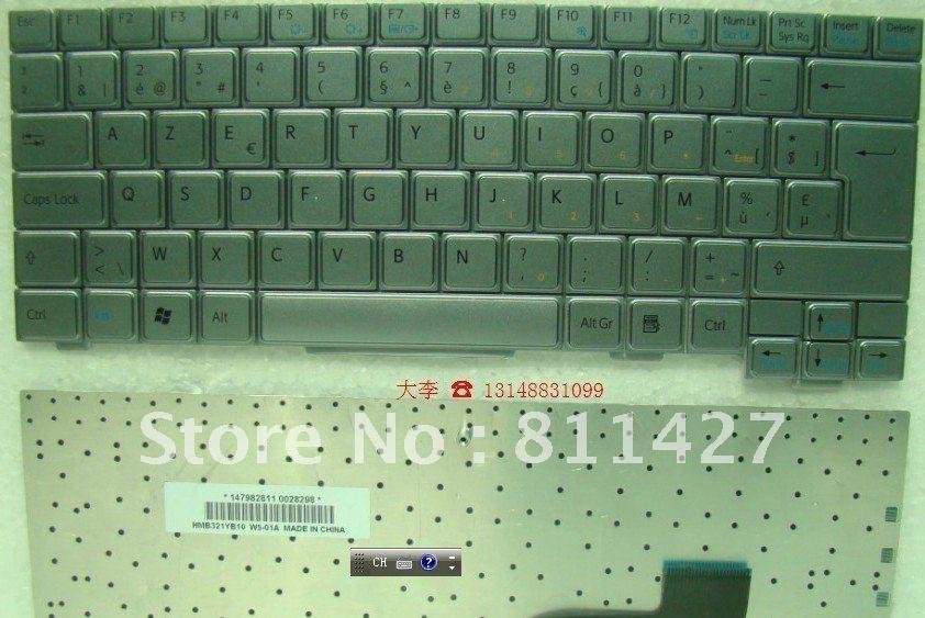 Компьютерная клавиатура SONY pcg/4h1m BELGIUM\ENGLISH