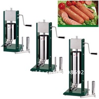 stainless steel sausage stuffer,sausage maker machine,sausage filler 7L