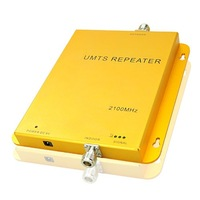 Brand New Hot! UP TO 1000 square meter work, 3G WCDMA UMTS 2100 MHZ Mobile Phone Signal Amplifier Repeater Booster Free Shipping