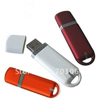 16GB Real capacity popular leather USB flash drive 10pcs/lot