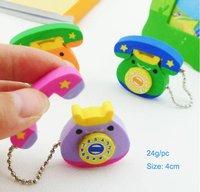 Wholesale 80pcs/lot mixed design available animal rubber ,animal lovely children eraser