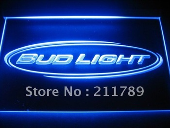 W0524 Bud Light Beer Bar Pub Club NR Neon Light Signs