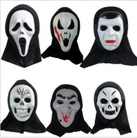 FREE SHIPPING! Halloween ghost masks masquerade supplies screaming ghost mask a face mask skull