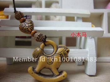 Free shipping,Lovely small trojan phone charm/mobile phone lanyard(50pcs/lot)