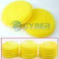 12 Polish Round car cleaning wash sponge / sponge wax Free Shipping 24