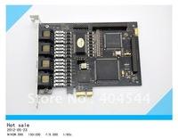 Free shipping 2 ports T1/ E1 PCI-E digital card  /asterisk digital card / ISDN PRI PCI-E card