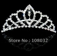 MIN.ORDER $15,brilliant crown with a leaf in the separated hearts