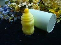 3D baby bottle soft Silicone DIY candle soap chocolate mold  cake baking jelly pudding mould