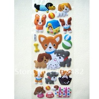 Cartoon Dogs Kids Bubble Stickers Teaching Things Sponge posted Gift