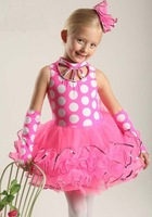 New! Luxury kids glitter ballet dancewear 1~15T child Princess TuTu dance skirt baby perform wear infant dance dress/costume