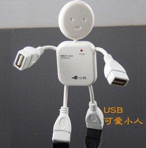 High Quality USB hub 4 port 2.0 robot USB hub Free Shipping DHL UPS HKPAM(China (Mainland))