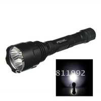 Free Shipping,+wholesale Portable Multifunction LED 3800lm Outdoor LED Flashlights