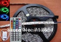 Wholesale - 5M 300 LED 5050 Waterproof RGB SMD Flexible Lamp Strip Light +44 Key IR Remote