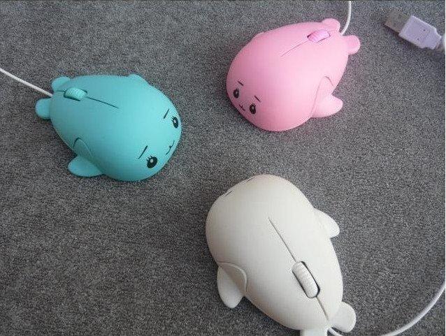 Free Shipping Creative USB Cute cartoon Mouse Dolphin & Beluga Whales Retail(China (Mainland))