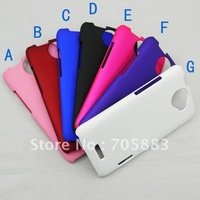 Smooth Matte Finish Hard Back Cover Case for HTC One X Free Shipping