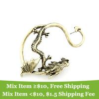 Серьги-гвоздики usd 11A42 colors snake ear clip cuff earrings jewelry! -cRYSTAL sHOP