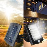 Freeshipping,36LED solar  motion detection sensor lamp retailsale,solar powered infrared sensor security light,Fast shipping