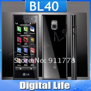 Original Unlocked LG BL40 Cell Phone Touch Screen 3G WIFI GPS Free Shipping