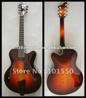 7-string solid wood yunzhi archtop jazz guitar