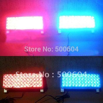 1 pair 96 Led Red/blue Red/red Blue/blue white/white Car Motorcycle Truck External EMS Warning strobe hazard flash light lamp