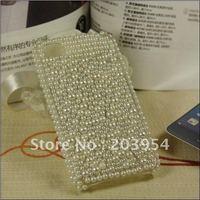 Чехол для для мобильных телефонов 2013 i003 Luxury Sparklin mens Bling Rhinestone Crystal for apple iPhone 4S 4g case Mobile brown Cover