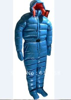 One-pieces down-filled clothes suit custom-made NEW.sleeping bag