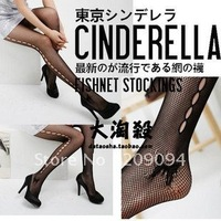 Black Fishnet Sexy Fashion Slimming Solid Hosiery Tights Pantyhose Women&#39;s Lady&#39;s Socks stockings