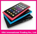 "Free Shipping 3.6"" Touch Screen Quad Band Dual SIM L9 N9 TV WIFI Mobile Phone"