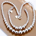 S080 Mixed Bracelet Necklace Ring Earrings Mix 925 Silver Set Fashion Jewelry STL Silver  B215 Jewelry Sets