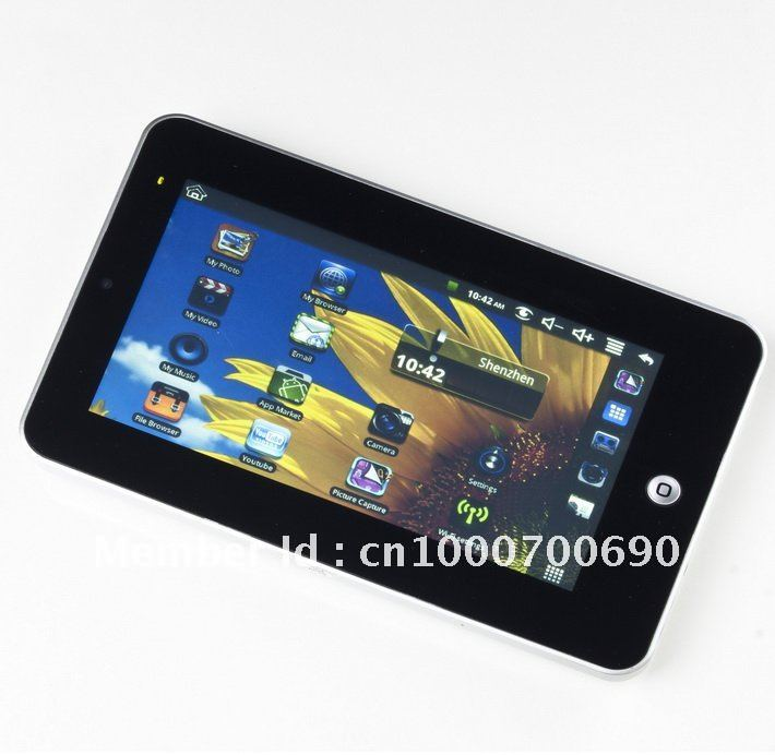 Mid Via 8650 Tablet Review 7 inch Two Point Touch Screen WiFi Camera Free shipping(China (Mainland))