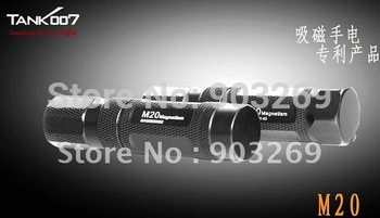 Mail Free+1PC Tank007 M20-5 Flashlight CREE R5 LED 5 Mode 190 LM Waterproof Hand High Power Mini Torch By 1*14500/1*AA Battery