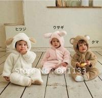 Детские ползунки новый стиль girl'ls 3шт костюм оголовьем + комбинезон + юбка для малышей 3-24m 4colors baby set120701