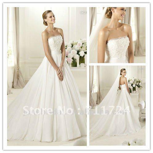 White Linen Wedding Dresses 103