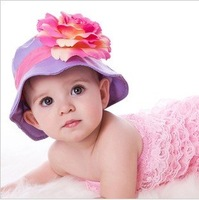 baby girls hat UV sun hat sun hat cap summer bonnet cap Princess 0608