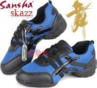 Free shipping Sansha Brand new women's Hip-Hop / Jazz Dance Sneakers gym fitness shoes, Air mesh