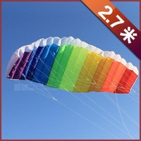 soft Parafoil kite single line kite lovely brand new 2.7m kite free fast shipping