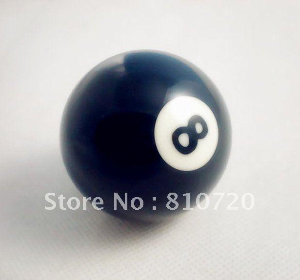 """Free shipping 1pcs NO.8 Pool snooker Billiard table Cue NO.8 ball 2-1/4"""" 57.2MM(China (Mainla"""