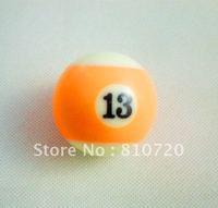 "Free shipping 1pcs NO.13 Pool snooker Billiard table Cue  ball 2-1/4"" 57.2MM"