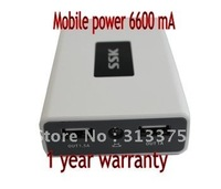 6600 mA mobile phone mobile power/charging treasure/SRBC509 From freight
