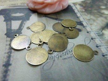 100pcs 10mm Antique bronze Metal Jewelry Bails- Great For Scrabble Tile Pendants And Glass Pendants C1544