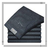 2013 brand new Autumn -summer Men's business leisure straight long trousers pants men