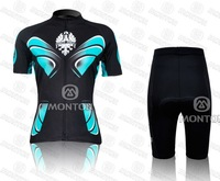 Free Shipping!2011/2012 Cycling bicycle Outdoor sports  Women Jersey Short sleeves Jersey +pants Size XS- XXXL  MWS12