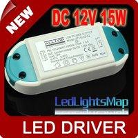 LED Transformer Power Supply Driver DC 12V 15W for Strip lamp G4 [LedLightsMap]