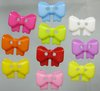 NB0103  Mix colors 500pcs Bow Tie shape 11mm*13.5mm 2-holes plastic sewing button craft button garment accessory