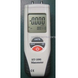 HT-1890 Digital Manometer Differential Air Pressure Meter Gauge(China (Mainland))