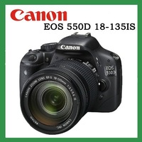 Original Genuine Canon EOS 550D+18-135mm lens high quality camera with an enhanced 3inch LCD monitor